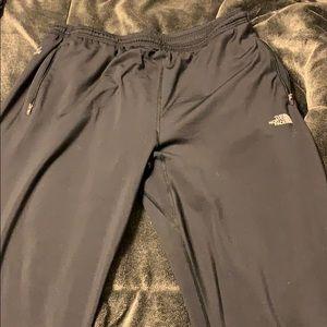 Water resistant anti wick warm  athletic pants